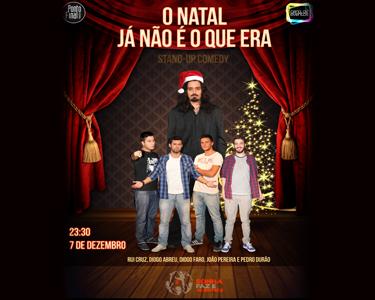 «O Natal já não é o que era!» | Comédia em Palco no Villaret