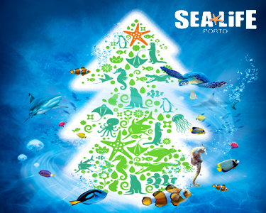 Mergulhe nesta Experiência Única | Sea Life 2 Adultos + 1 Criança