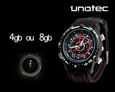 Relógio Espião com Vídeo - 4GB ou 8GB