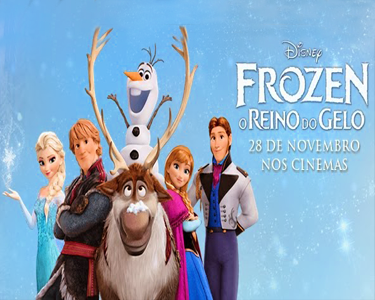 «Frozen - O Reino do Gelo» no Cinema City | Bilhete & Pipocas