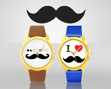 Relógio Moustache | Escolha o seu
