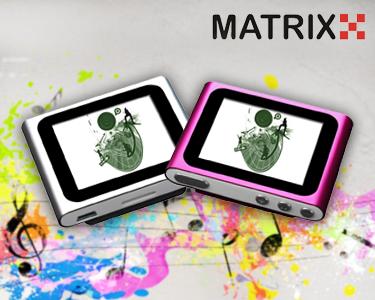 Leitor MP4 de 4GB | Escolha a cor