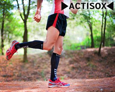 2 Pares de Meias de Compressão para Desporto | Actisox®