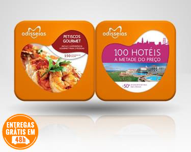2 Presentes: Petiscos Gourmet + 100 Hotéis