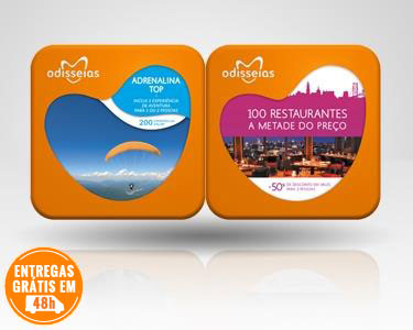 2 Presentes: Adrenalina Top + 100 Restaurantes