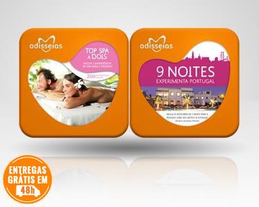 2 Presentes: Top SPA a Dois & 9 Noites
