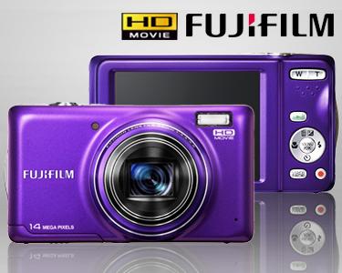 Kit Câmara Fujifilm® FinePix T350 + Estojo + Cartão Memória SD 8GB