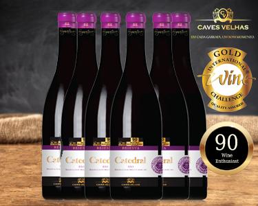 Caixa 6 Garrafas Catedral Reserva 2010 - Best Buy Wine Enthusiast