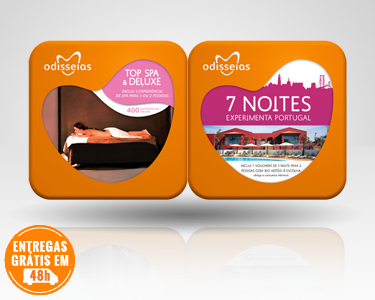 2 Presentes: Top SPA & Deluxe + 7 Noites