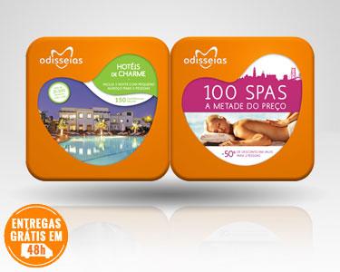 2 Presentes: Hotéis de Charme & 100 Spas