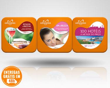 3 Presentes: Spa + Gourmet + 100 Hotéis