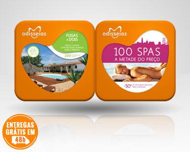 2 Presentes: Fugas a Dois & 100 Spas