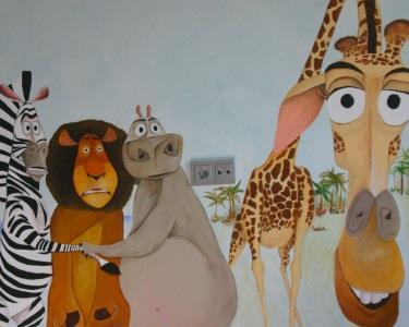 Filho Feliz-Casa Alegre   Projecto Pintura Decorativa Quarto Infantil