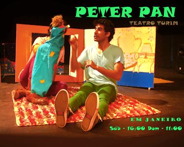 Peter Pan ao vivo no Teatro Turim - Uma Personagem para Sempre no nosso Imaginário