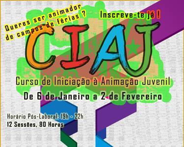 Curso de Iniciação à Animação Juvenil | CIAJ + Certificado
