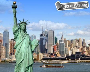 Páscoa em Nova Iorque | 5 Noites c/ Voo + Transfers + Visita à Cidade