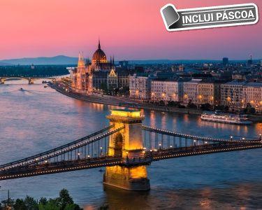Visite Budapeste |  Voo + 3 Noites + City Tour e Cruzeiro no Danúbio