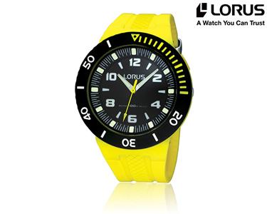 Relógio Lorus® Sport | Amarelo
