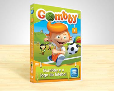 DVD Gombby Vol.5 | Gombby e o Jogo de Futebol