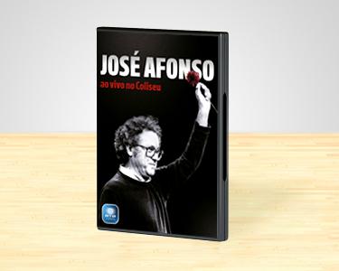 José Afonso ao Vivo no Coliseu | DVD