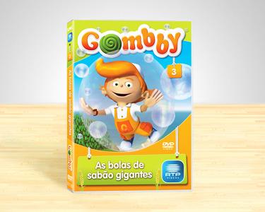 DVD Gombby Vol.3 | As Bolas de Sabão Gigantes