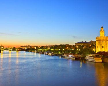 Sevilha | Noite Romântica em Hotel 4* com Vista Rio