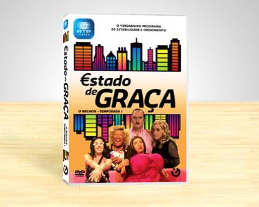 DVD Estado de Graça | I Temporada