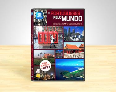 Portugueses Pelo Mundo | 2ª Temporada em DVD