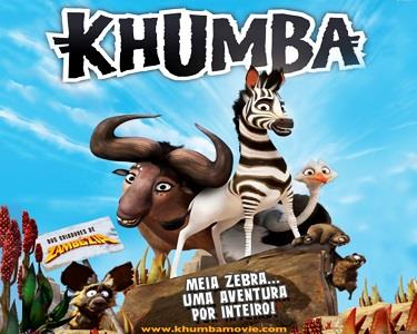 «Khumba VP» no Cinema City | Bilhete & Pipocas