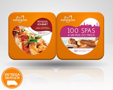 2 Presentes: Petiscos Gourmet & 100 Spas