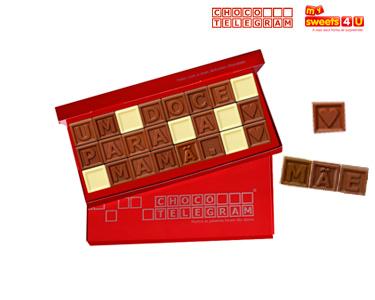 ChocoTelegram | Mensagem Personalizada de 8 a 60 Quadrados
