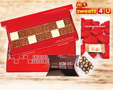 ChocoTelegram | Mensagens de Amor em Chocolate