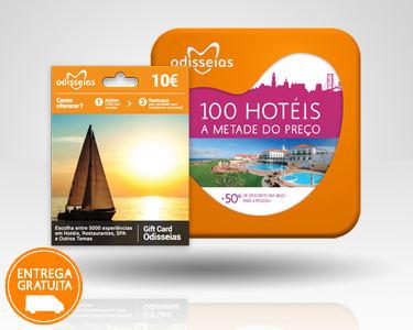 2 Presentes: GiftCard & 100 Hotéis