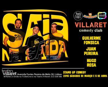 Saia na Saída | Uma Grande Noite no Villaret Comedy