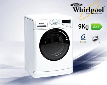 Máquina de Lavar Roupa Whirlpool® | 9Kg A ++