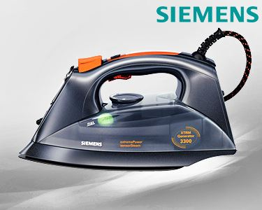 Ferro Siemens® Gerador de Vapor Compacto Extreme Power & Sensor Secure