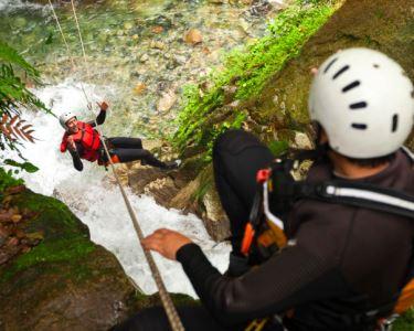 Canyoning no Rio Arda   Luso Rafting