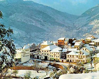 Há Neve na Serra da Estrela - Hotel Vale do Zêzere