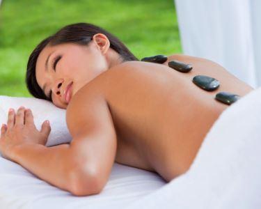 Massagem de Pedras Quentes 1 hora | Especial Mulher | Estoril