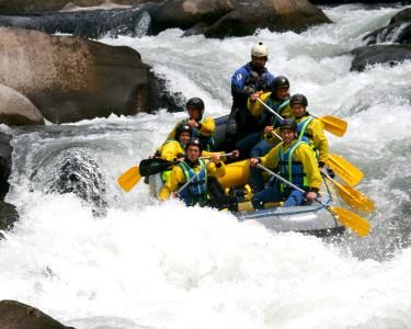 Baptismo de Rafting ou Micro-Rafting | Rio Paiva