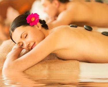 Massagem Pedras Quentes 1h | Sta. Catarina | 1 ou 2 Pessoas