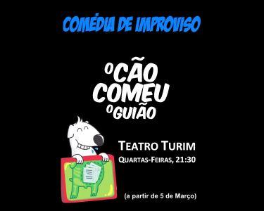 «O Cão Comeu o Guião» | Um Espectáculo no Teatro Turim
