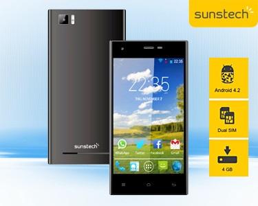 Smartphone 3G Dual Core com Android 4.2.2 e Dual Sim | Sunstech®