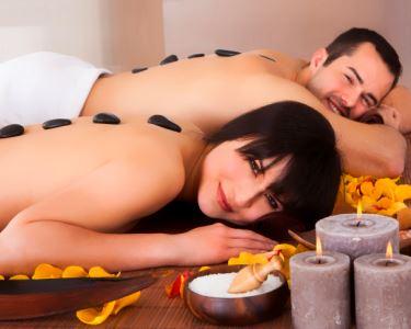 Deep Relax 1hora   Massagem Hot Stones a Dois