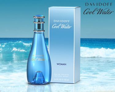 Perfume Cool Water Davidoff® | Escolha 30 ou 100ML