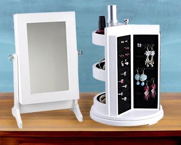 Guarda Jóias com Espelho | 3 Modelos à Escolha