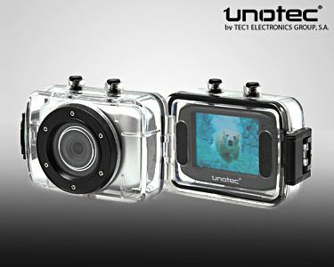 Câmara de Vídeo Unotec XTR Sports | À Prova de Quedas e Água
