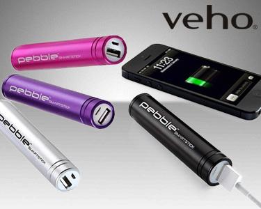 Carregador Portátil de Emergência para Smartphone   Escolha a cor