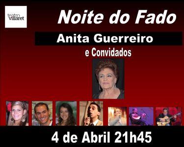 Noite de Fado Anita Guerreiro e Convidados | Teatro Villaret