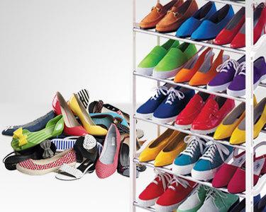 Organizador de Sapatos - 30 Pares | Prático e Resistente